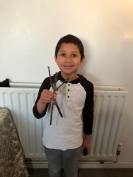 Yusuf and his Stick Man